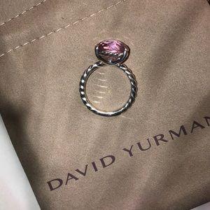 David Yurman Jewelry - David Yurman Pink Morganite Color Classic